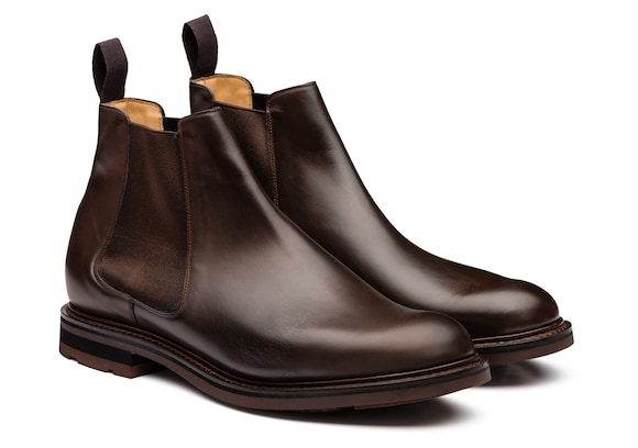 Church's Welwyn Nevada Leather Chelsea Boot Ebony