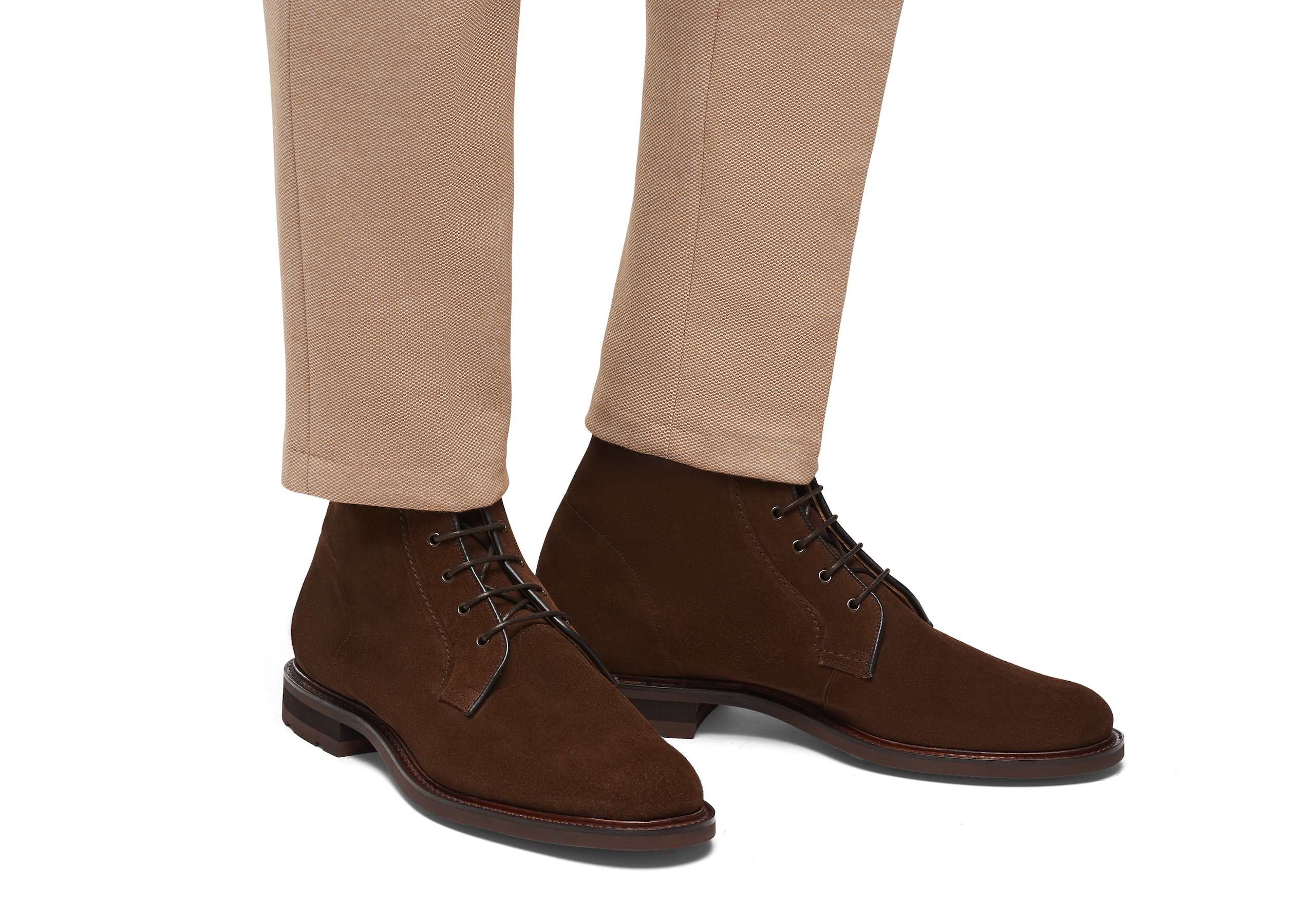 Bowers Church's Lace Up Boot Brown