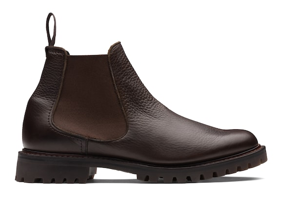 Church's  Soft Grain Leather Chelsea Boot Ebony