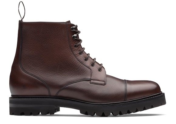 Church's  Soft Grain Leather Derby Boot Burnt
