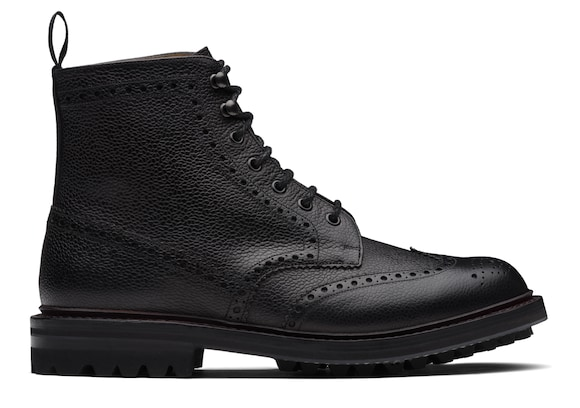 Church's Mc farlane lw Highland Grain Lace-Up Boot Brogue Black