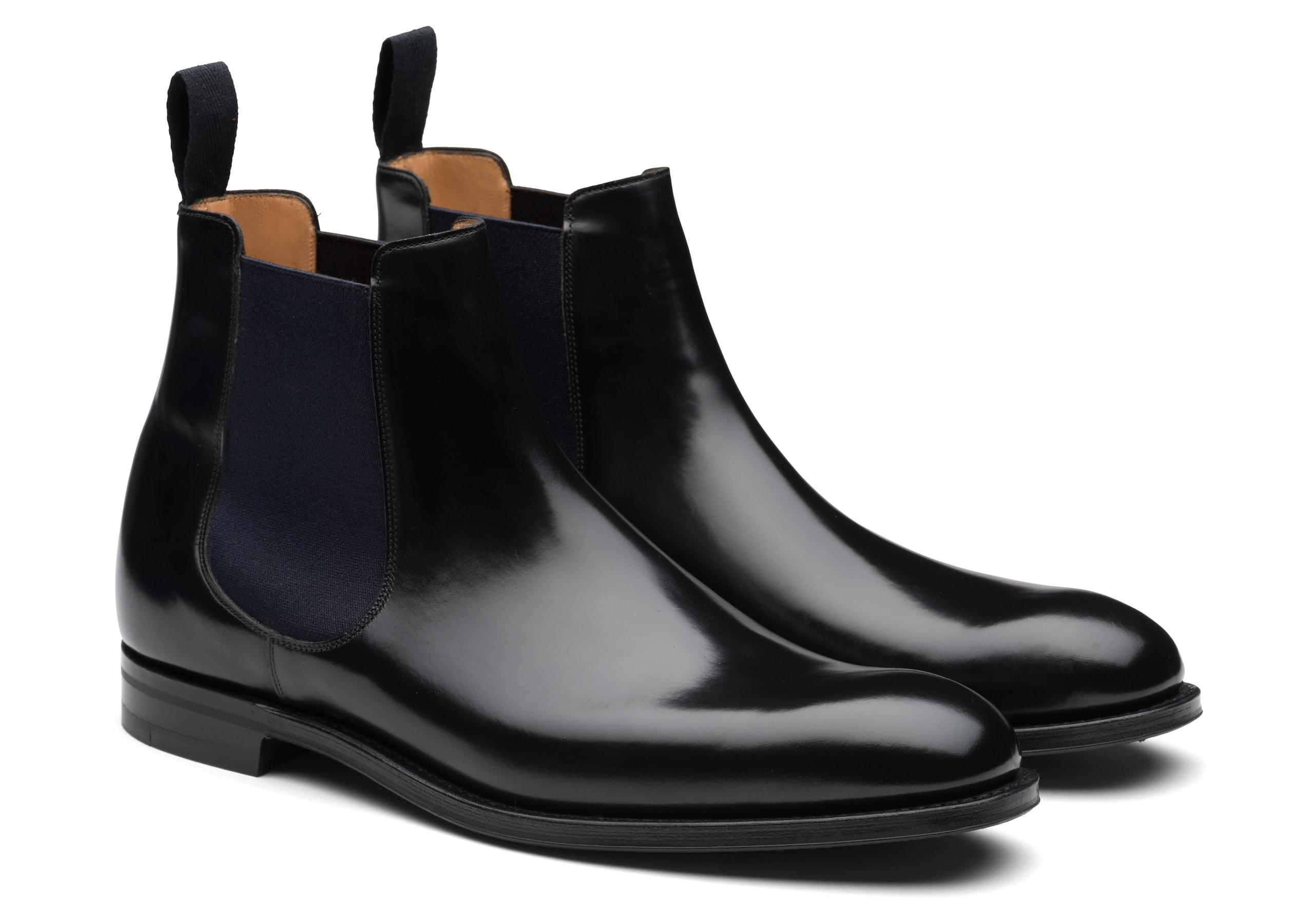 Amberley ^ r Church's Polished Binder Chelsea Boot Black