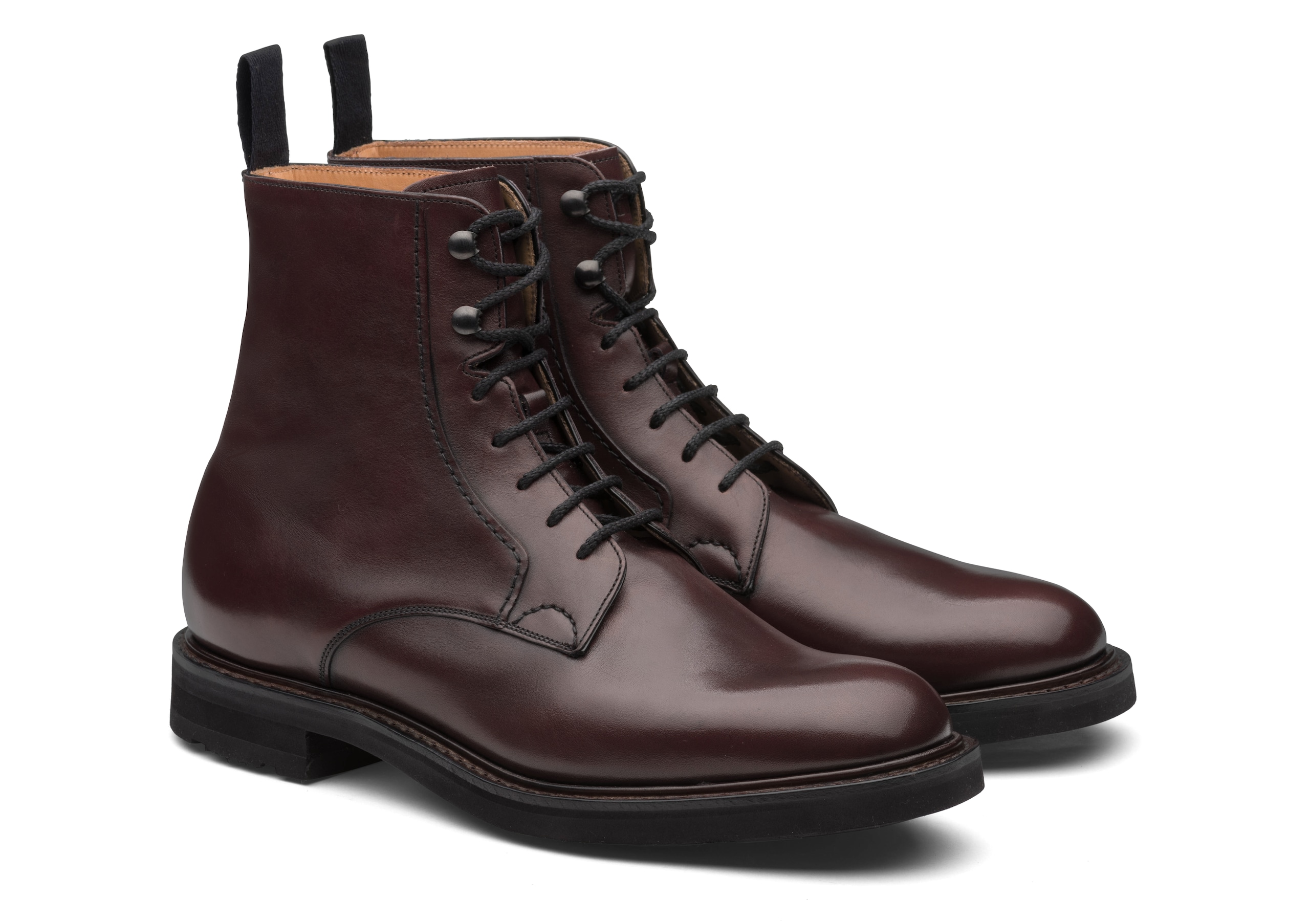 Wootton lw Church's Calf Leather Lace-Up Boot Brown
