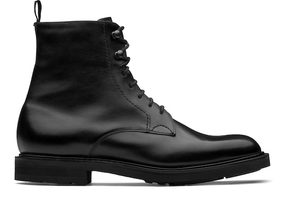 Church's Wootton lw Calf Leather Lace-Up Boot Black