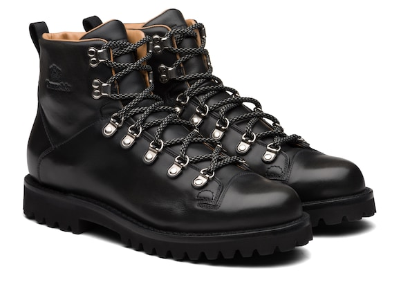 Church's Edelweiss Calf Leather Mountain Boot Black