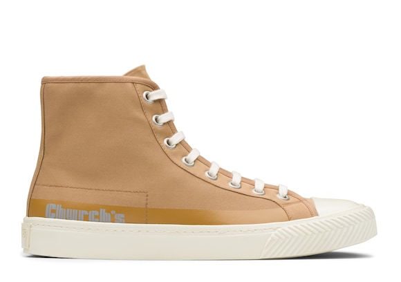 Church's Zephyr Gabardine HI-Top Sneaker Sigar