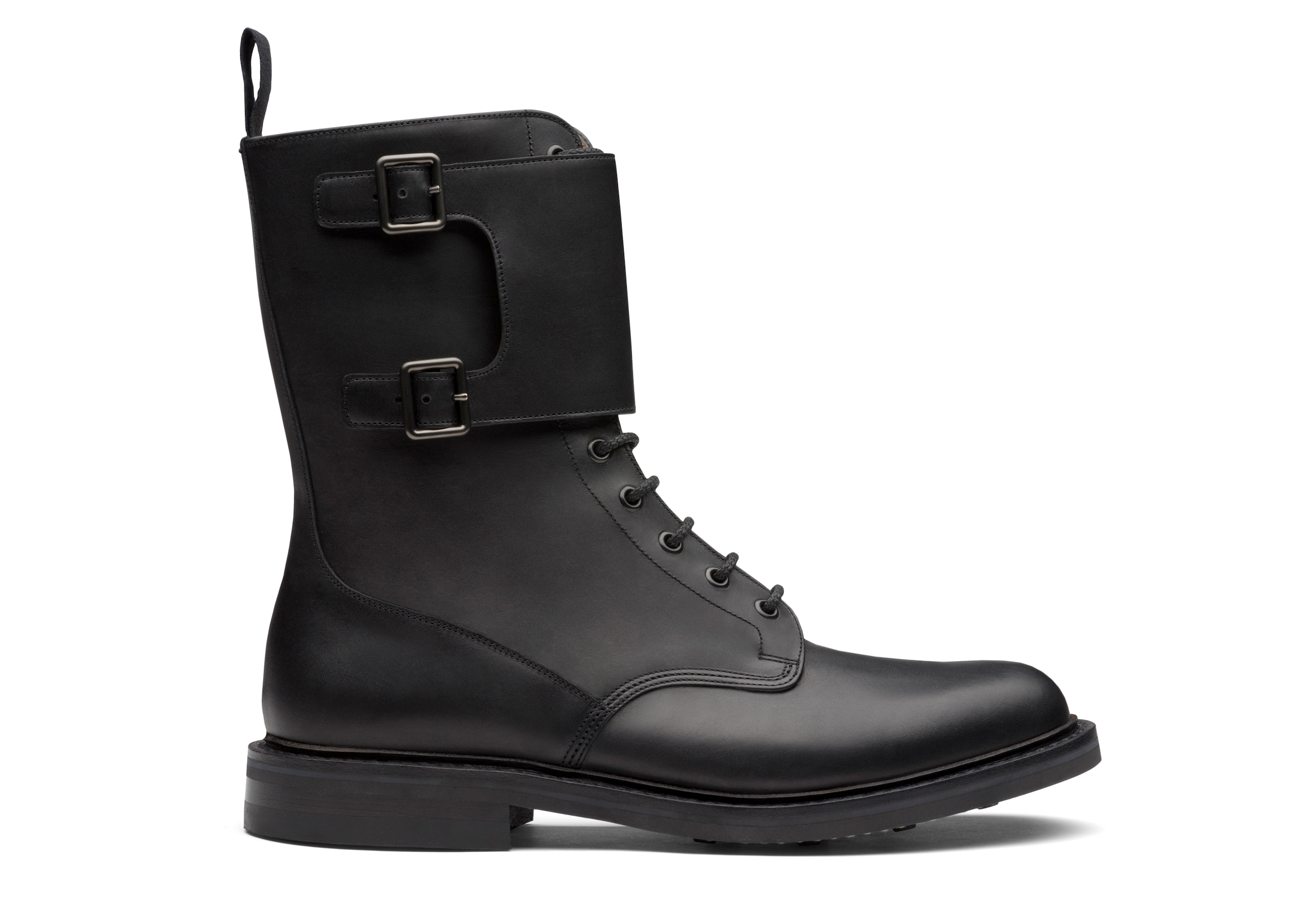 Mc kay 2 Church's Calf Leather Lace-Up and Monk Boot Black