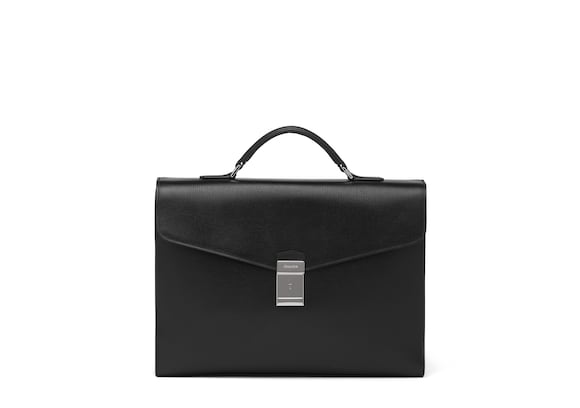 Church's Warwick St James Leather Briefcase Black