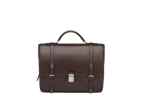 Church's Buckingham St James Leather Satchel Coffee