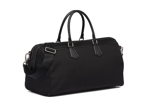 Church's Radnor St James Leather Tech Weekend Bag Black