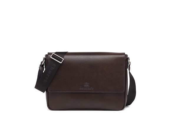 Church's  St James Leather Messenger Bag Coffee