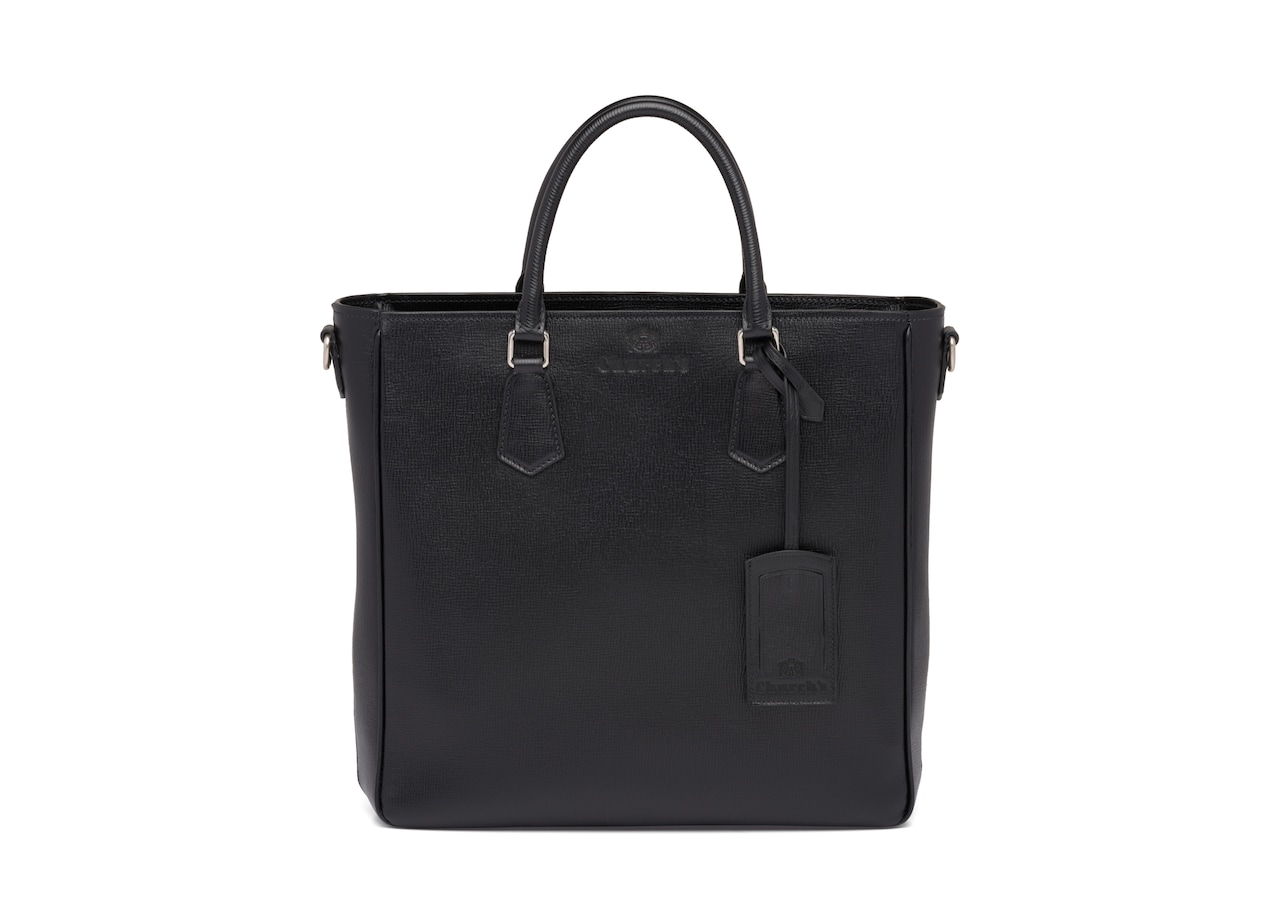 Guilford Church's St James Leather Tote Bag Black