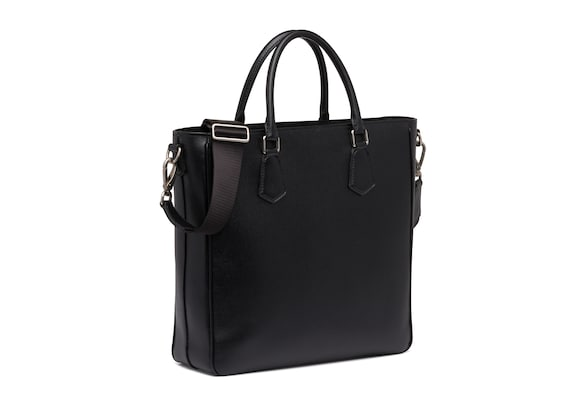 Church's true St James Leather Tote Bag Black