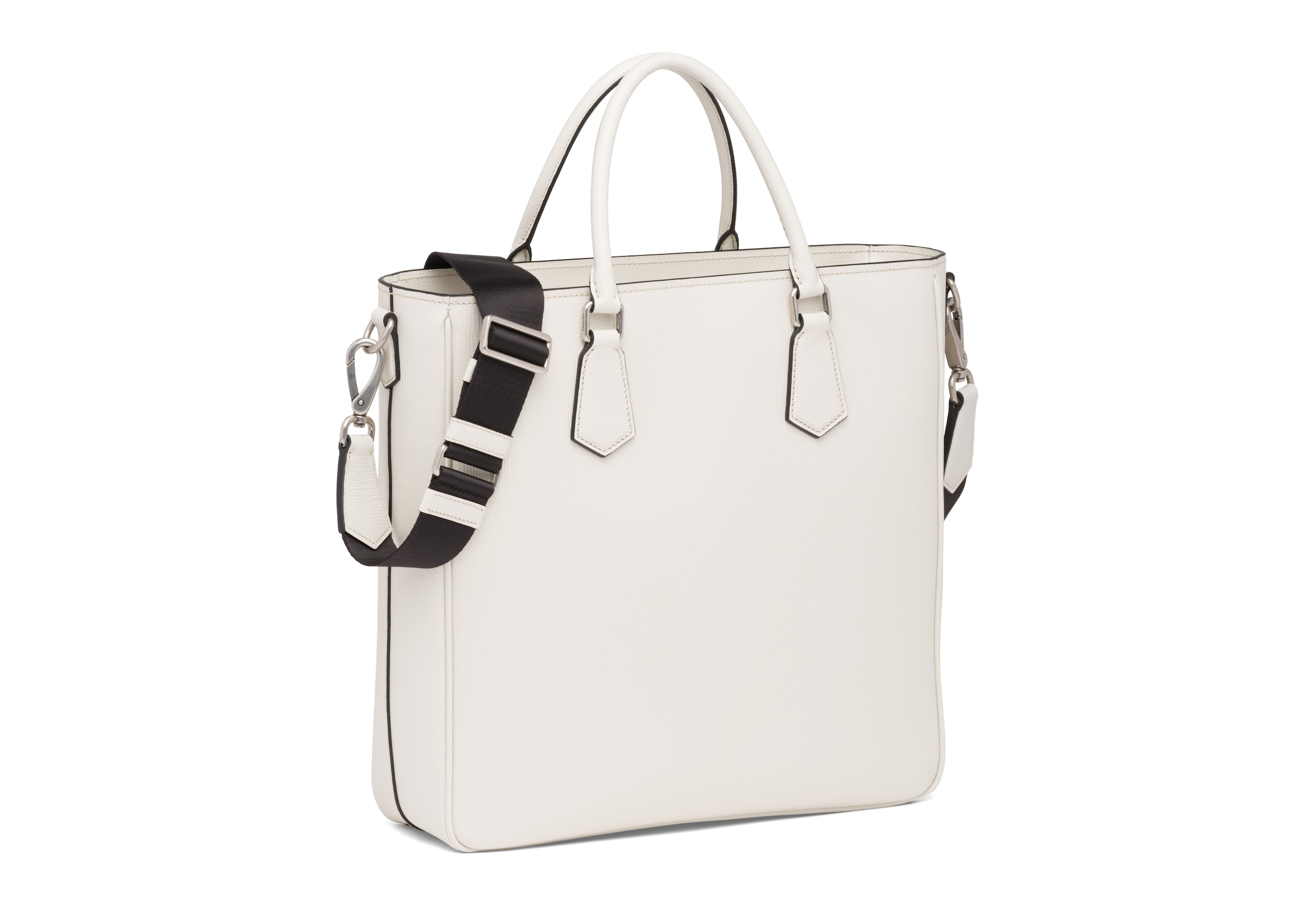 Guilford Church's St James Leather Tote Bag Neutral
