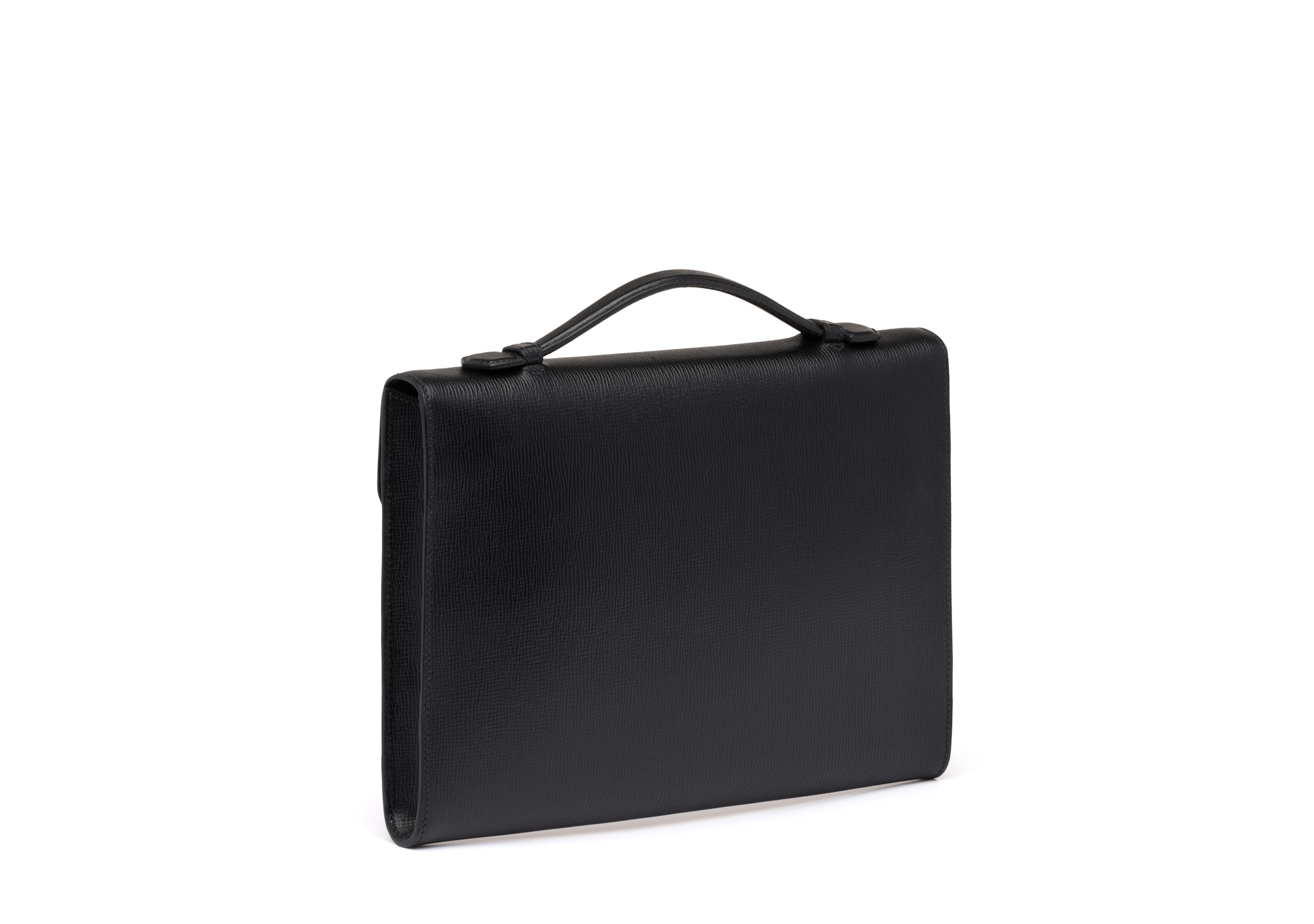 Crawford Church's St James Leather Document Holder Black