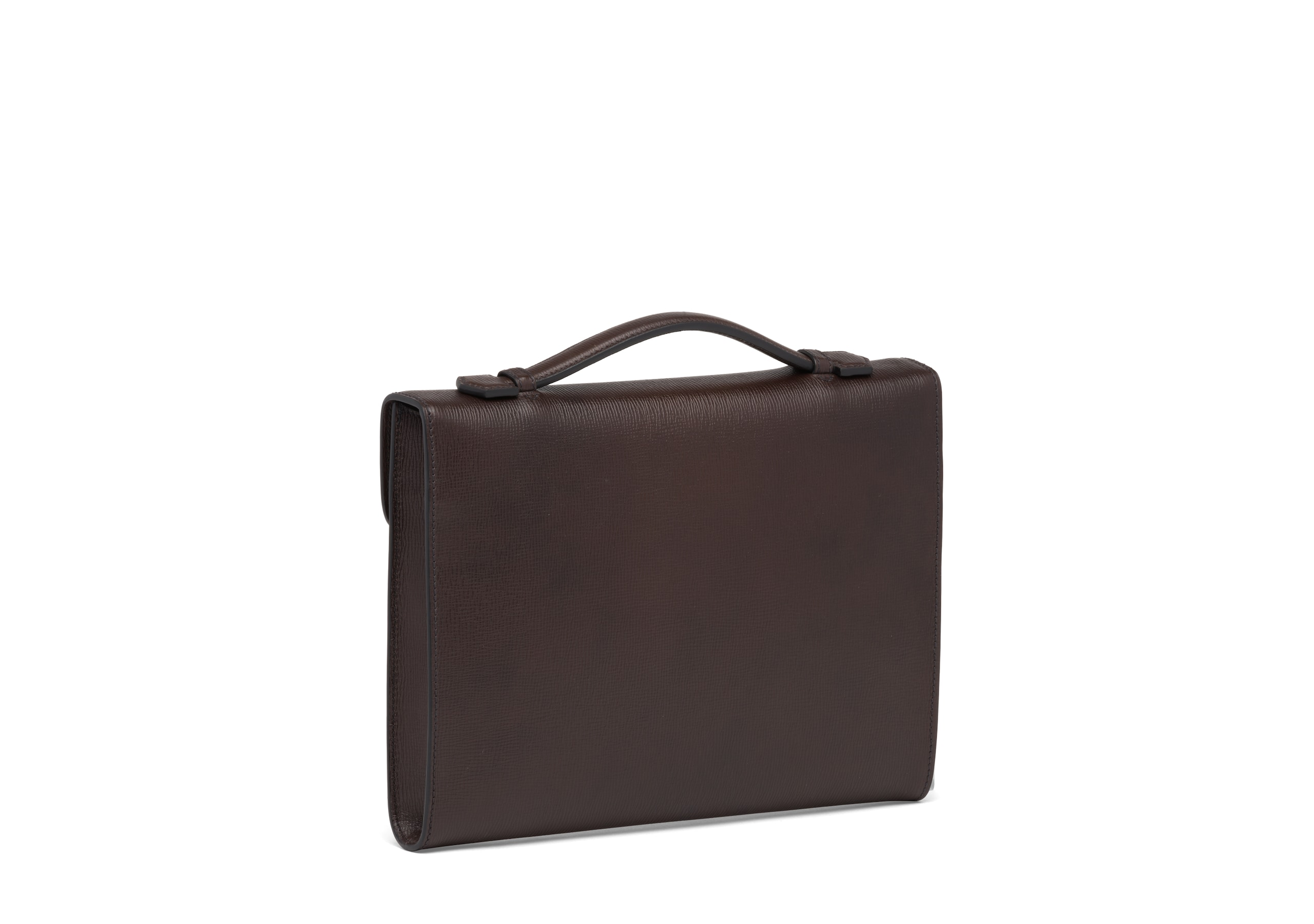 Crawford Church's St James Leather Document Holder Brown