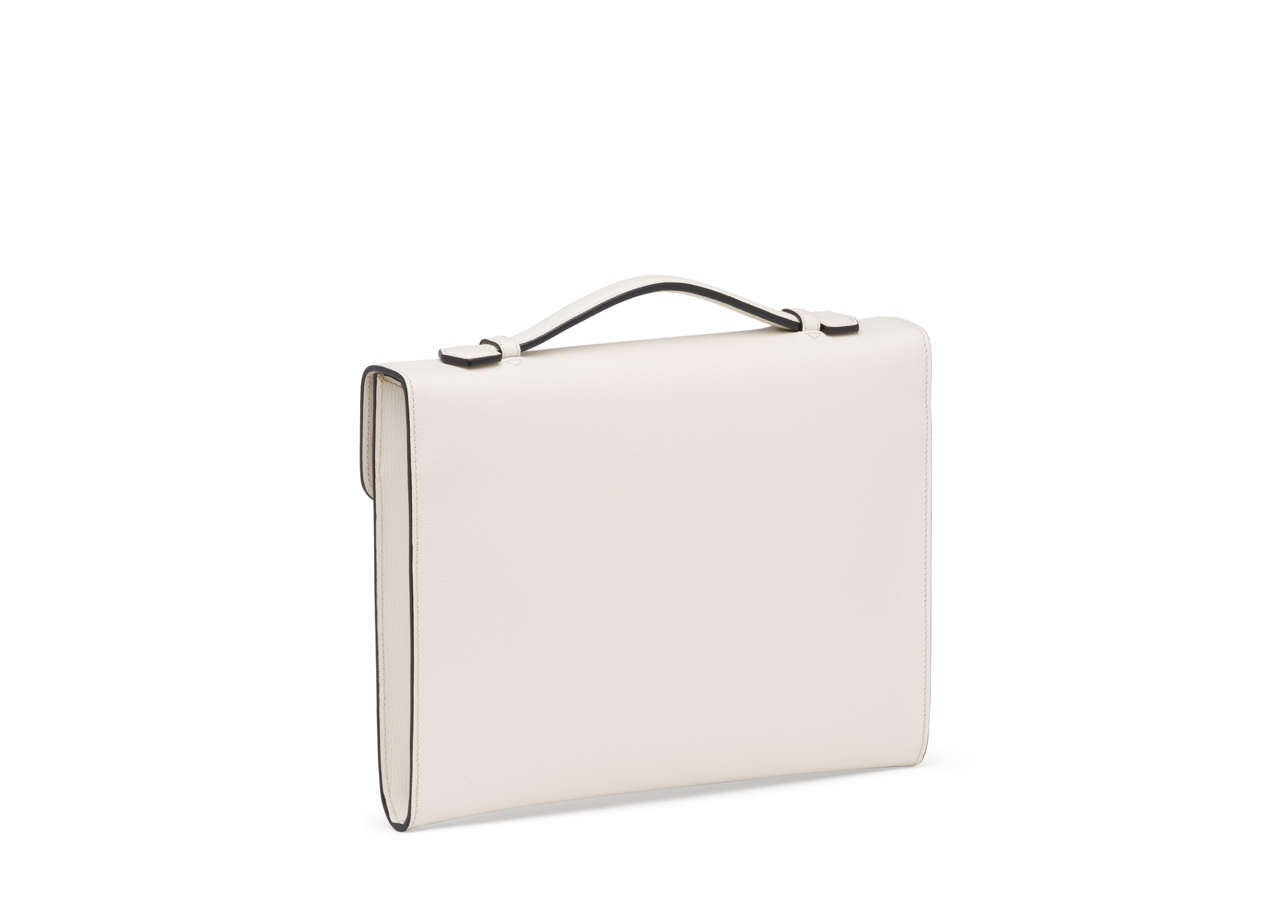 Crawford Church's St James Leather Document Holder Neutral