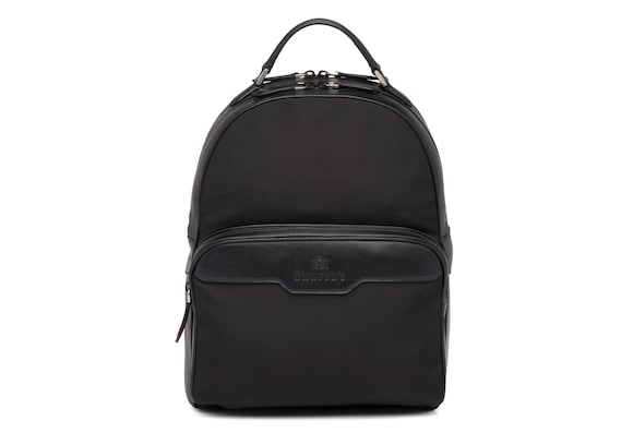 St James Leather Tech Backpack