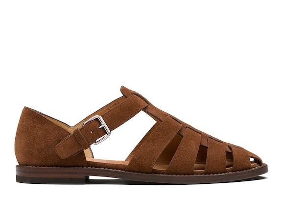 Church's Fisherman Suede Sandal Burnt