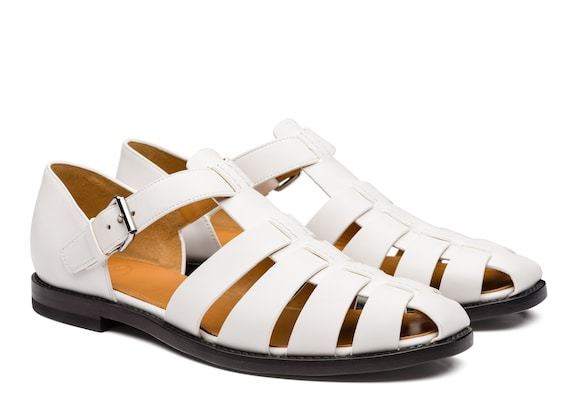 Church's Fisherman Nevada Leather Sandal White