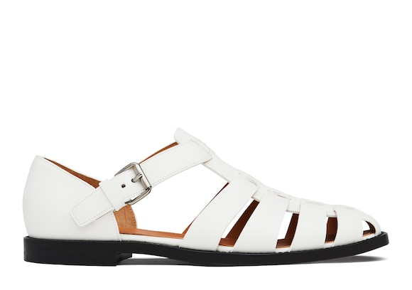 Church's true Nevada Leather Sandal White