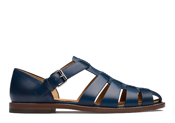 Church's true Nevada Leather Sandal Blue