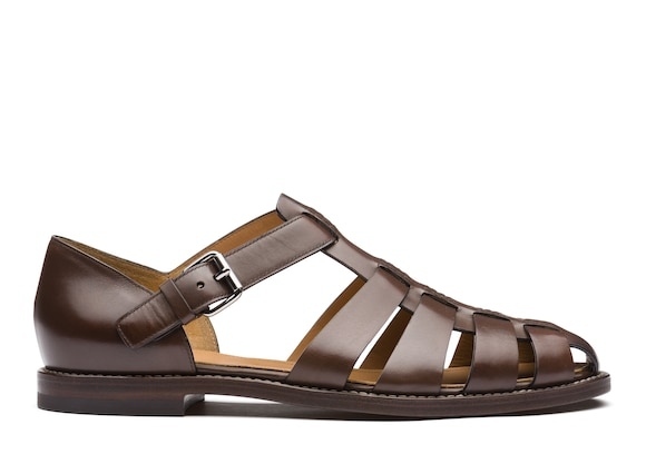 Church's true Nevada Leather Sandal Ebony