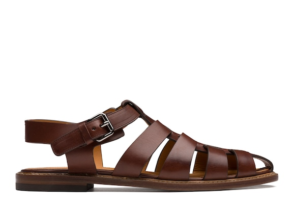 Church's Barney Calf Leather Open Back Sandal
