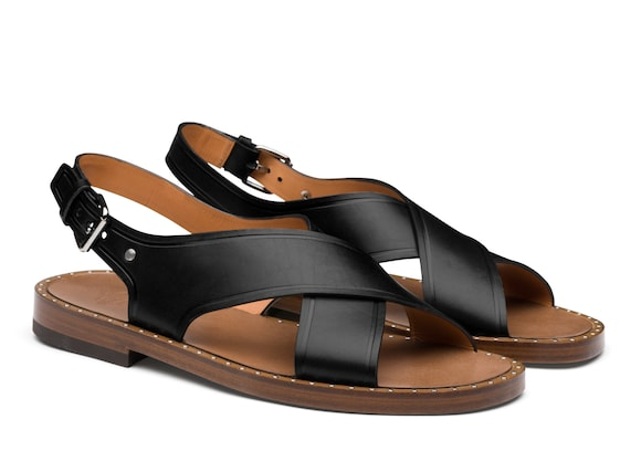 Church's Rhys Calf Leather Sandal Black