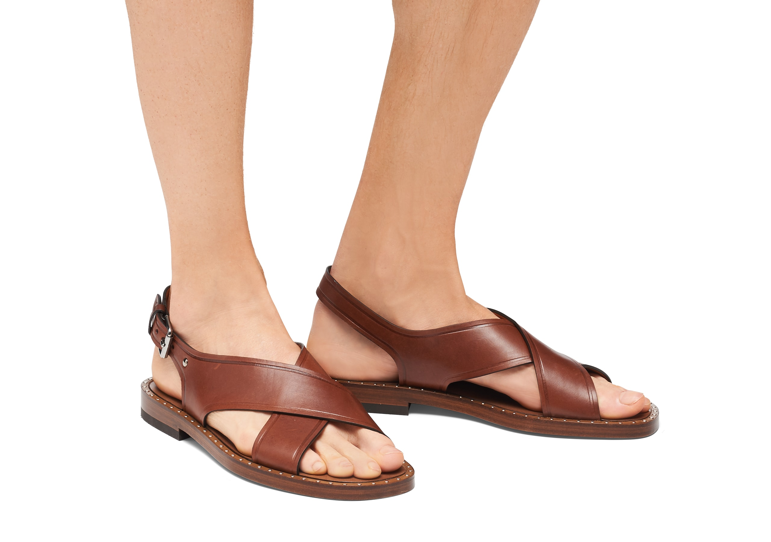 Dainton Church's Calf Leather Sandal Brown