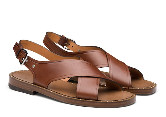 Church's Rhys Calf Leather Sandal Brown