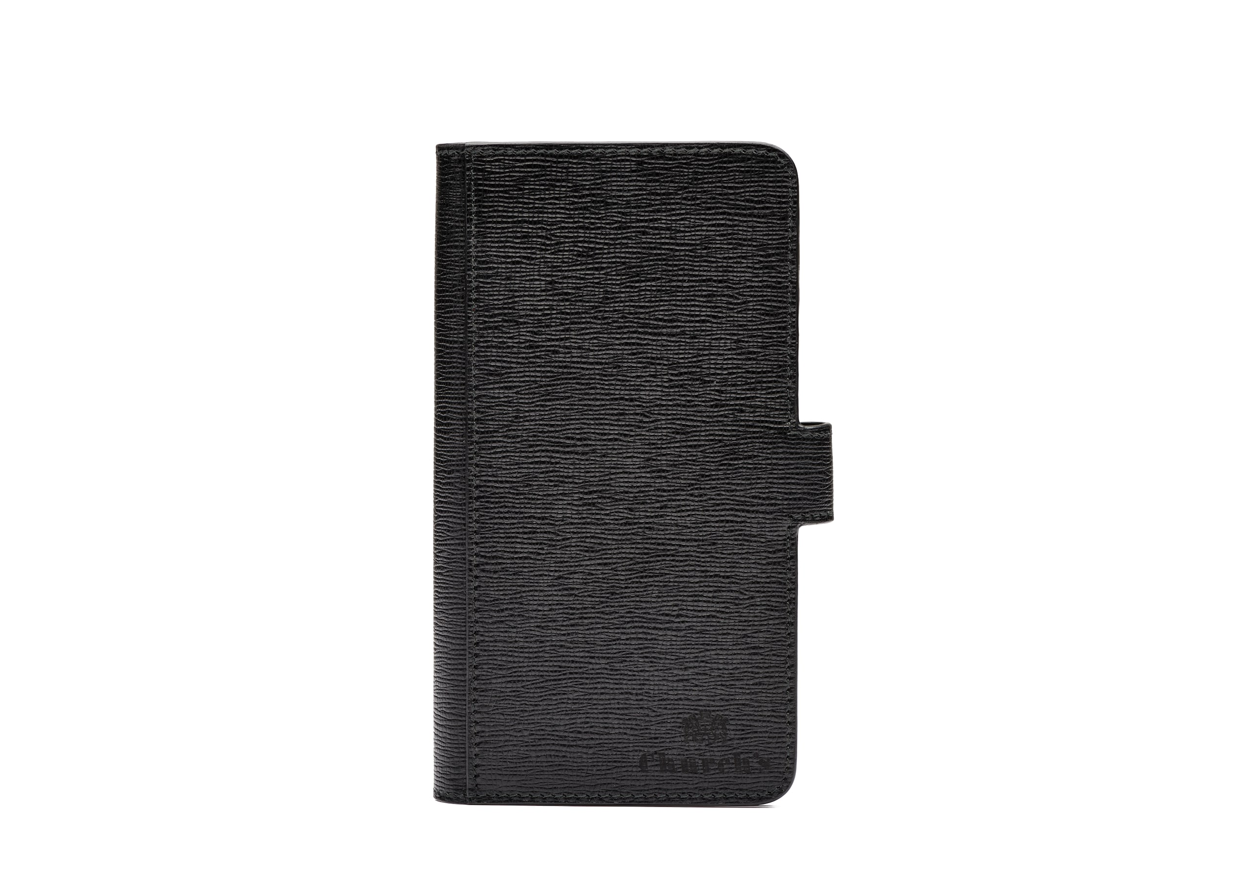 Phone wallet Church's St James Leather Phone Wallet Black
